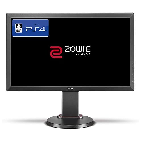 chollos oferta descuentos barato BenQ ZOWIE RL2460S Monitor Gaming de 24 FullHD 1920x1080 1ms 60Hz HDMI Oficial para PS4 PS4 Pro head to head setup Lag free Black eQualizer y Color Vibrance Gris Oscuro