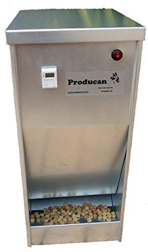Comedero automático producan 220v para perros grandes 15 kilos capacidad
