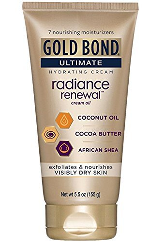 Gold Bond Ultimate Radiance Renewal Cream Oil, 5.5 Ounce (Pack of 1)