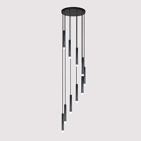 Apliques Pared De pared de luz / Iluminación Duplex larga escalera de la lámpara, creativo nórdica simple Araña, Lámparas Varios Boutique en diferentes restaurantes de Post-Modern, 40 * 200cm, Nombre: Amazon.es: Hogar
