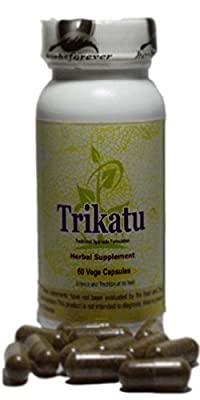 Trikatu (Ayurvedic Digestion Care Formulation) (Herbal Supplement) 60 Vege Capsules, 800 Mg Each - Concentrated