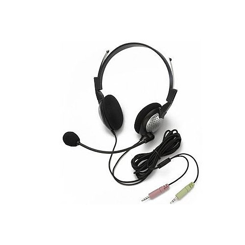 Andrea Electronics NC-185 High Fidelity Stereo PC Headset with Noise Canceling Microphone - 1 C1