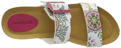 Desigual Shoes (Bio8_Galactic), Sandali con Cinturino alla Caviglia Donna