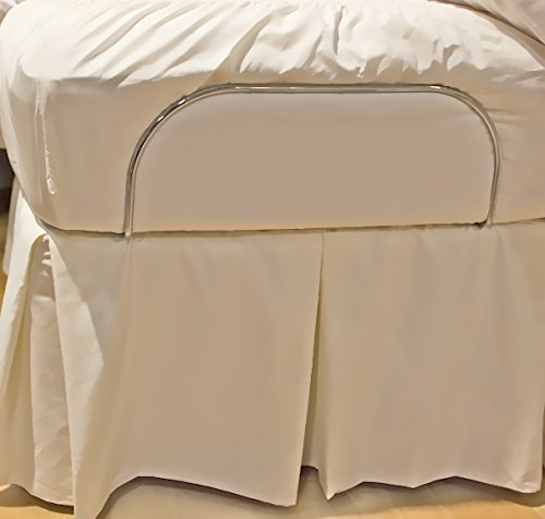 Gotcha The Classic Collection Cotton Percale Adjustable Bedskirt Full XL White (Percale Cotton Bedskirt)