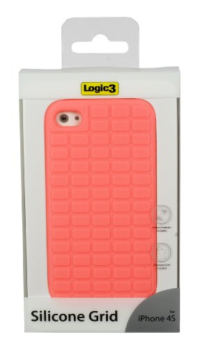 Logic3 Silicone Grid Cover Rosso
