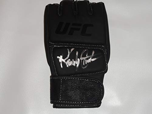 RANDY COUTURE SIGNED UFC FIGHT GLOVE MMA CHAMPION LEGEND PROOF