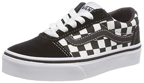 Vans Unisex Kids Ward Suede/Canvas Low-Top Sneakers