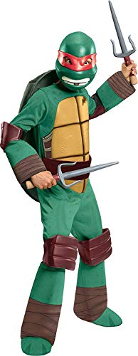 (Teenage Mutant Ninja Turtles Deluxe Raphael Costume,)