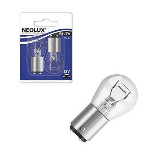 NEOLUX N380-02B P21//5W 12V 21//5W BAY15d Blister 2 St/ück NEOLUX/® by OSRAM