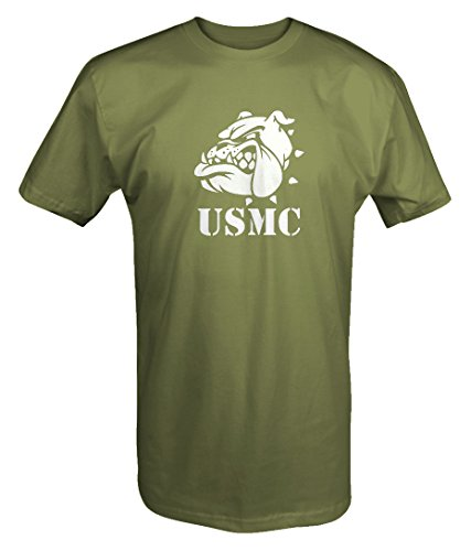 Usmc Bulldog Sweatshirt - USMC Semper Fi Bulldog Military One Shot One KillT shirt - 3XL