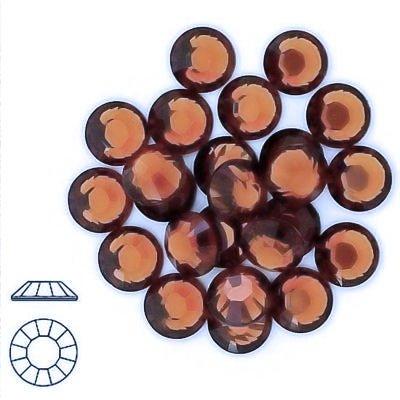 SMOKED TOPAZ Hotfix SWAROVSKI Rhinestones Crystals (Smoked Topaz Swarovski Crystal Beads)