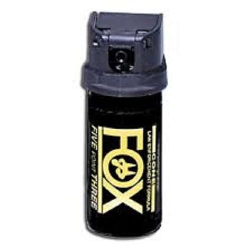 (Fox Labs ACK, LLC 1.5 Ounce 2% OC 5.3-mm Flip Top Stream Pepper Spray )