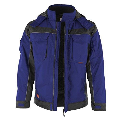 Winterjacke PROFI - Arbeitsjacke, Outdoorjacke OVP - blau/schwarz