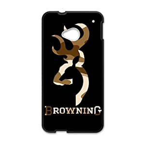 Browning Black htc m7 case