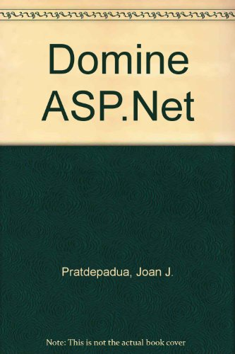Domine ASP.Net (Spanish Edition) by Alfaomega Grupo Editor