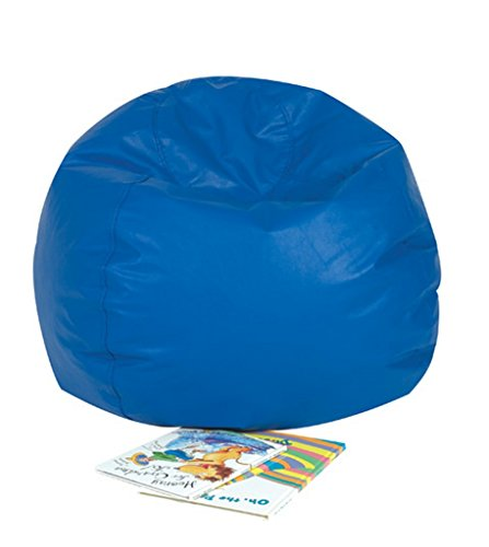 Children's Factory - CF610-001 26 Kids Bean Bag Chairs, Flexible Seating Classroom Furniture, Beanbag Ideal for Boy Girl Toddler Daycare or Playroom, Blue