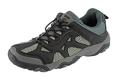Rockin Footwear Men's Amphibious Athletic Hiking Swimming Water Shoe Aqua Sneaker