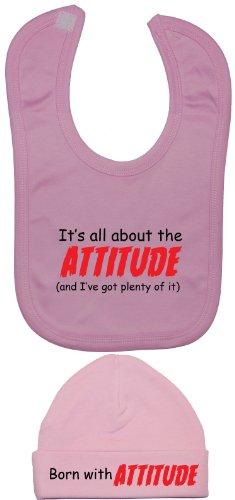 nbsp;à Bavoir Et About Products Rose Acce 0 Attitude The C'est Bonnet I nbsp;mois Ve Got 12 Plein All D'it Baby casquette amp; De tOw6wHxq