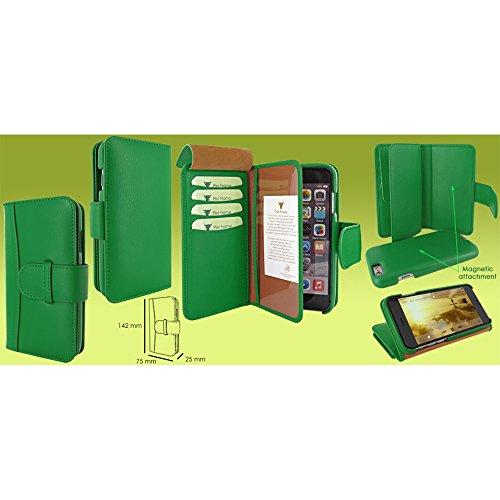 Piel Frama U716DG WalletMagnum Coque pour iPhone 6 Vert