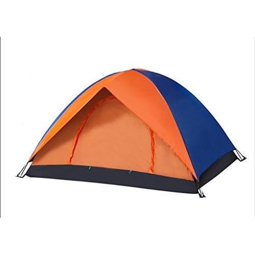 Tente en plein air 3-4 personnes Auto Tents Double Rain Speed Drive Les tentes de camping sauvages Set