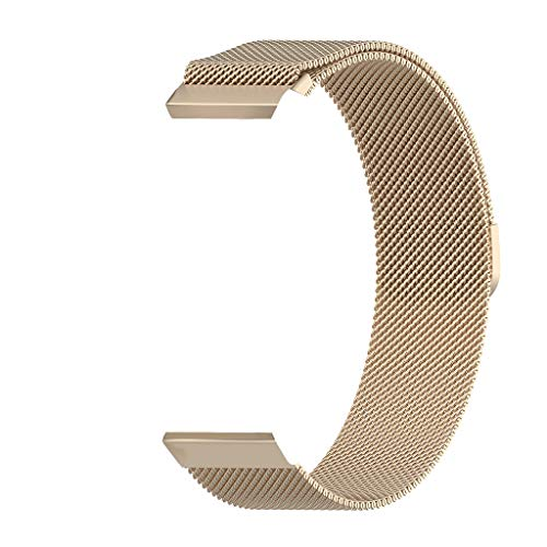 Sodoop for Samsung Galaxy Watch 46 mm/Gear S3 Band, Classics Milanese Loop Stainless Steel Replacement Strap Bracelet Wristband with Magnetic Buckle for Galaxy Watch 46 mm/Gear S3