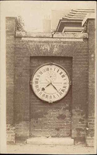 Shepherd Gate Clock at Royal Greenwich Observatory London, England Original Vintage Postcard