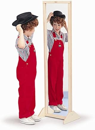 Whitney Brothers Vertical Horizontal Mirror With Stand