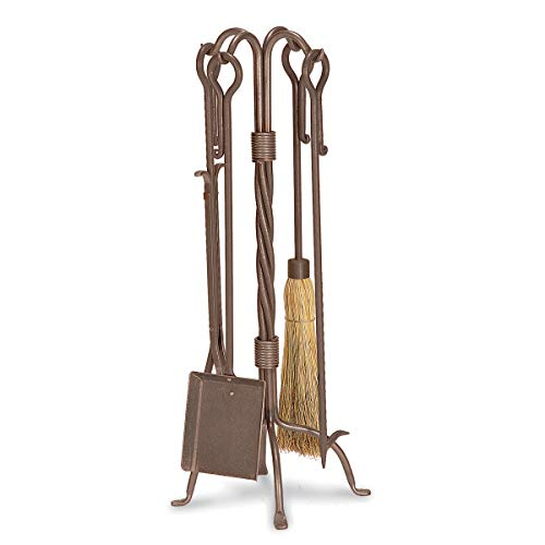 Pilgrim Home and Hearth 18008 Traditional Fireplace Tool Set, 31