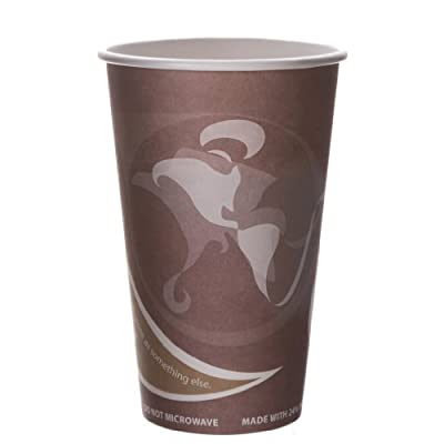 Eco-Products EVOLUTION WORLD 24% PCF HOT DRINK CUPS, 16 OZ