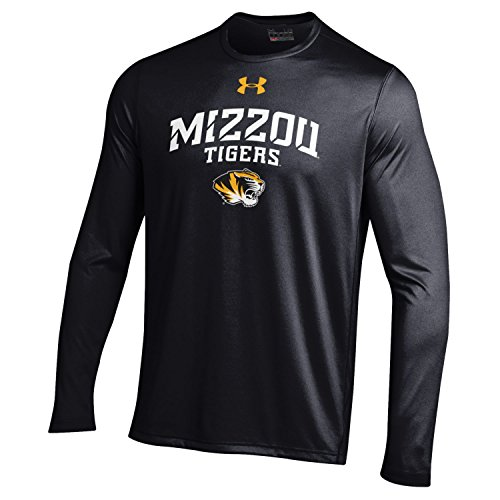 - Under Armour NCAA Missouri Tigers Men's Long Sleeve Tech Tee, Large, Black
