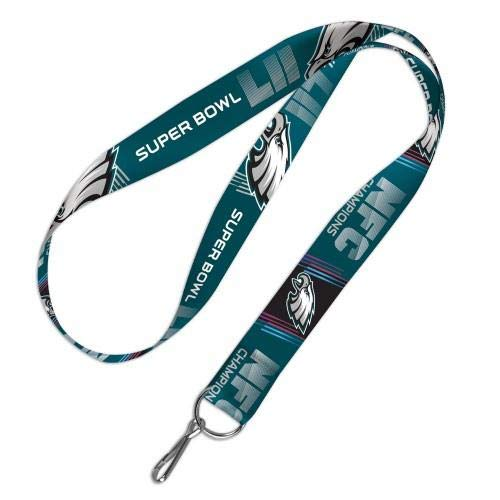 WinCraft NFL Philadelphia Eagles NFC Champions Super Bowl LII Lanyard]()