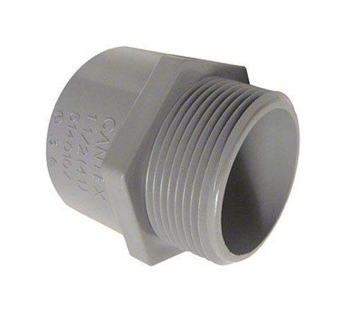Cantex Pvc Male Terminal Adapter Threaded 3/4