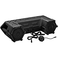 Planet Audio PATV65 Bluetooth, Amplified Sound System, Waterproof Speakers & Tweeters, Bluetooth Remote, Ideal For ATV/UTV