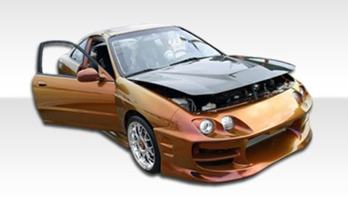 1998-2001 Acura Integra 2DR Duraflex Bomber Kit-Includes Bomber Front Bumper (101933), Bomber Rear Bumper (101370), and Bomber Sideskirts (101371). - Duraflex Body Kits