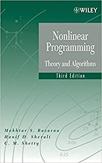 Nonlinear programming theory and algorithms mokhtar s bazaraa nonlinear programming theory and algorithms 3edition fandeluxe Gallery
