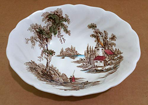 Johnson Brothers Mill - Johnson Brothers The Old Mill Oval Vegetable Bowl 8 7/8