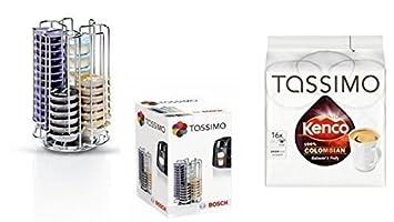 Dispensador de Cápsulas Tassimo T Discos Sistema 52 cápsulas el Original de Bosch