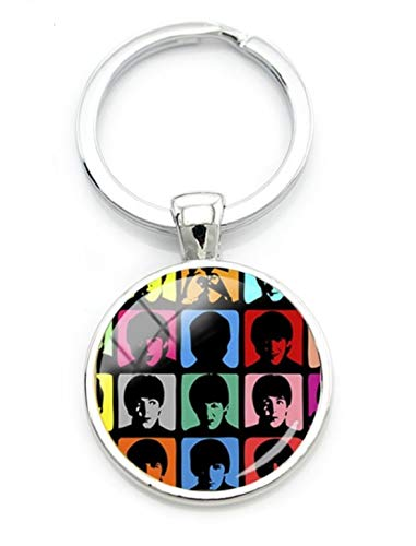 The Beatles Keychain.Hard Days Night- John Lennon,Paul McCartney,George Harrison, Ringo Star.Perfect for Loyal Fan (Paul Mccartney Itunes Live From Capitol Studios)