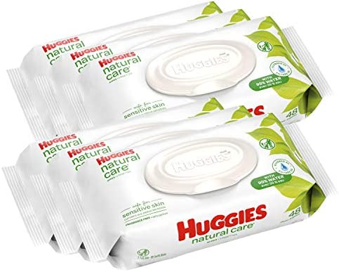 HUGGIES Unscented Sensitive Disposable Flip top