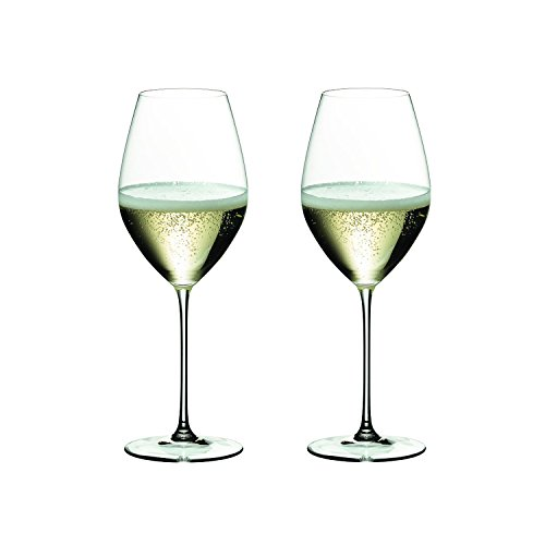 Riedel 6449/28 Veritas Champagne Glass, Set of 2, Clear