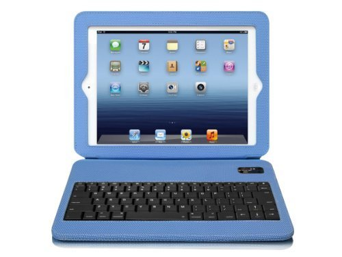 Click to buy Aluratek Slim Color Folio Case with Bluetooth Keyboard for iPad 2/3 - Sky Blue (ABTK02FSB) - From only $63.82