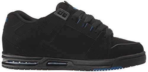 Der Säbel-Skate-Schuh der Kugel-Männer Schwarz / Schwarz / Blau