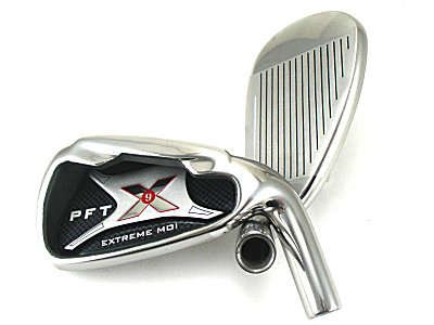 PFT X9 High Moi Extreme 9 Iron Set Golf Clubs Custom Made Right Hand Stiff S Flex Steel Shafts Complete Mens Irons Ultra Forgiving OS Oversized Wide Sole Ibrid Club by PFT X9 (Image #8)