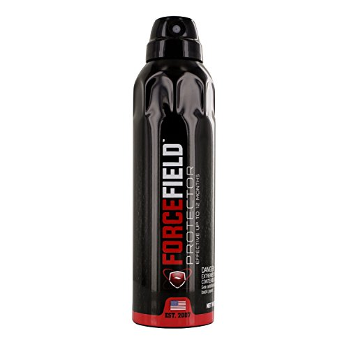 (Forcefield Protector Waterproof and Stain Resistant Protectant Spray for Shoes, Clothes and Hats, 6-Ounce Bottle )