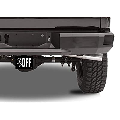Rogue River Tactical Funny F Off Screw Off Trailer Hitch Cover Plug Gift Idea Car Truck: Automotive