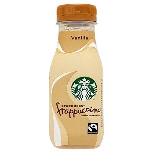Starbucks Frappuccino Fairtrade Lowfat la bebida del café de vainilla 250ml (paquete de 8 x