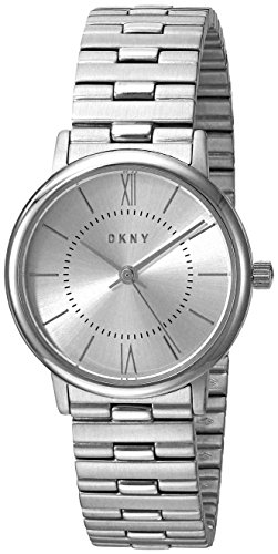 DKNY Women's 'Willoughby' Quartz Stainless Steel Casual Watch, Color:Silver-Toned (Model: NY2547)