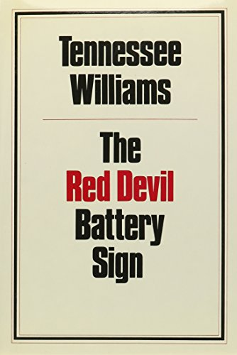 The Red Devil Battery Sign (Ndp650)