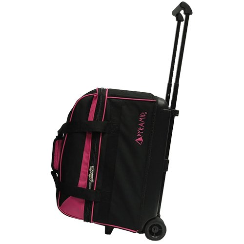 Pyramid Prime Double Roller Bowling Bag (Hot Pink)