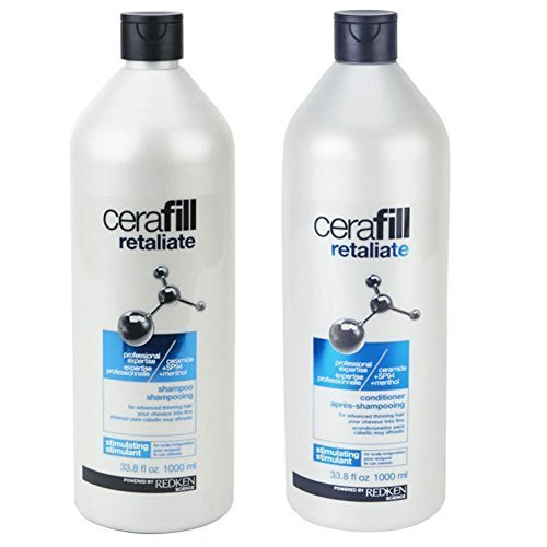Redken Cerafill Retaliate Shampoo and Conditioner Duo 33.8 Ounce by REDKEN